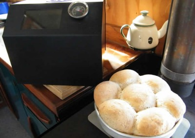 Bread Rolls baked in the Little Honey Oven