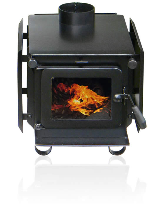 The Little Honey Woodburner - Compact, burns overnight wood